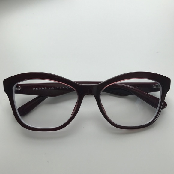 68ad76a94884 Authentic Prada eyeglasses with rx lenses